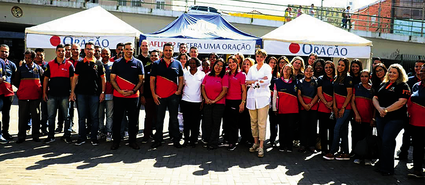 Ponto de Oração:  grupo EVG leva mensagem de esperança por todo o Brasil