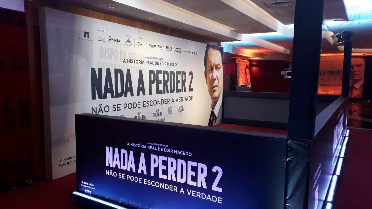 """Imprensa ignora mobilização social que leva grande público para assistir a """"Nada a Perder 2"""""""