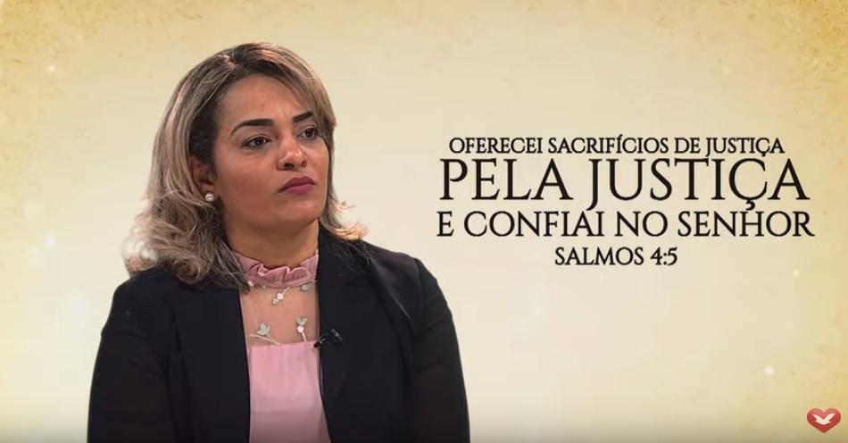 """""""Eu venci o câncer na Campanha da Justiça"""""""