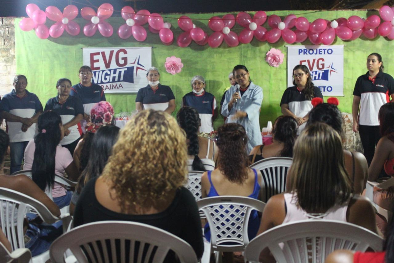 Em Roraima, garotas de programa recebem orientação sobre câncer de mama