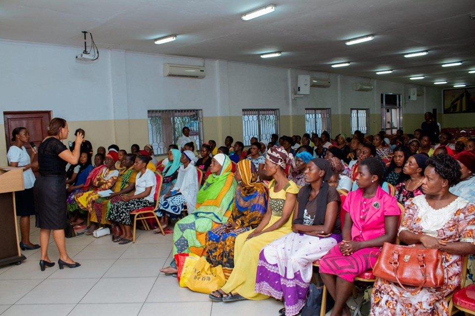 Primeiro encontro da Escola de Mães na Tanzânia