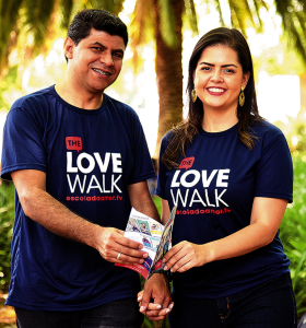são paulo, fé, caminhada do amor, the love walk, diálogo, conversa, união