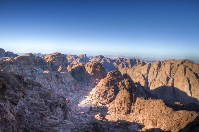O que é a Fogueira Santa do Monte Sinai?
