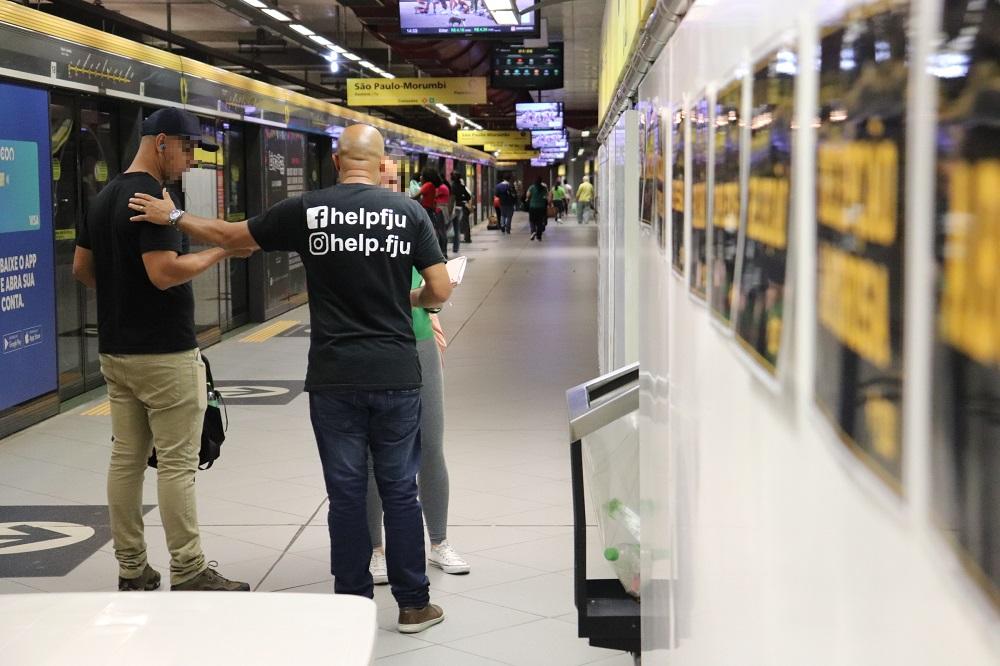 'Vida sobre trilhos': ação combate suicídio em trens e metrôs