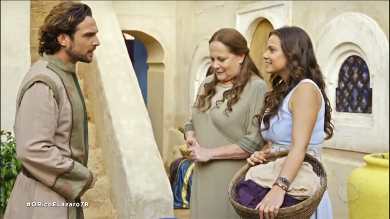 O Rico e Lázaro: Zac temeu ao ver Zelfa conversando com Joana