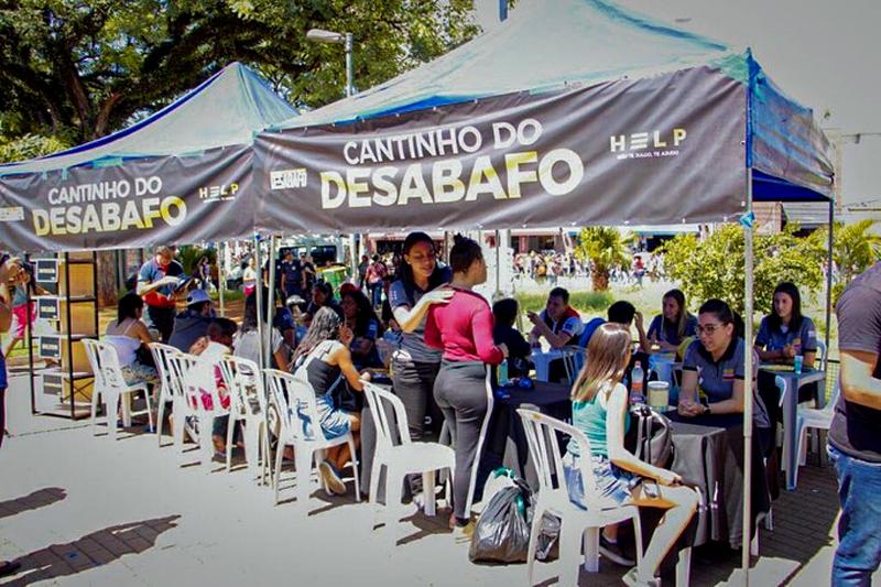 Projeto Help promoveu o Dia Nacional do Desabafo