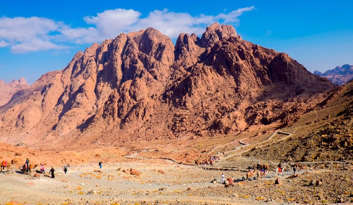 Sinaï: de la désolation à la merveille