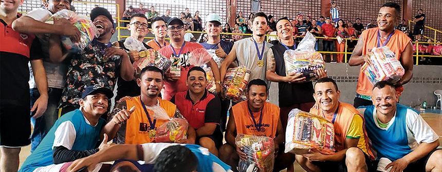 UNP realiza torneio esportivo para reeducandos no Pará