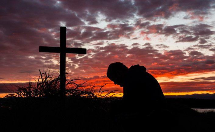 Картинки человек с крестом