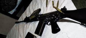 armas, tráfico, perigo
