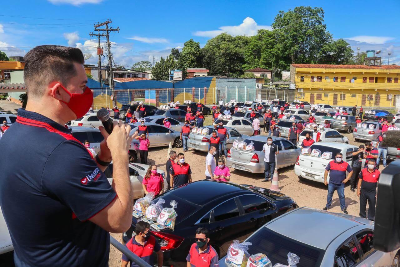 No Pará, familiares de detentos recebem 30 toneladas de alimentos