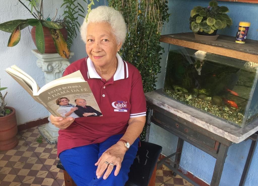 Atividades do Calebe motivam idosos durante distanciamento social