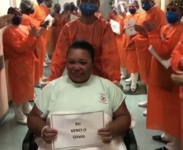 Hospital Santa Marcelina comemora milésima alta de pacientes com COVID-19