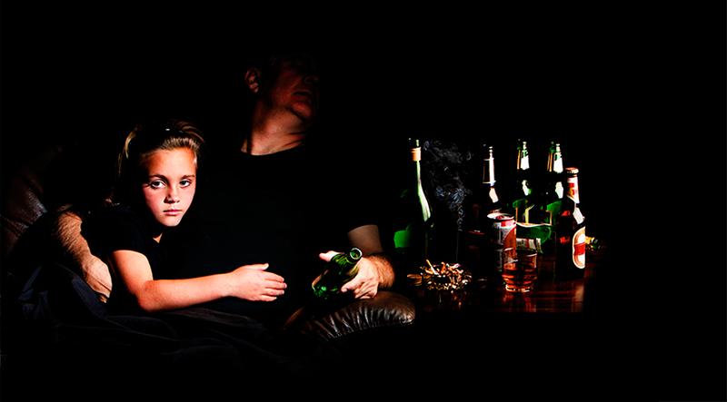 Pai alcoólatra, filho suicida?