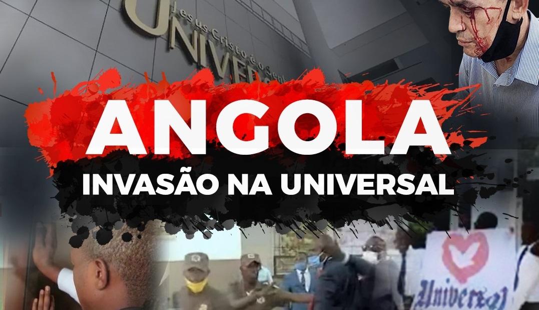 Angola: novo ataque à Universal