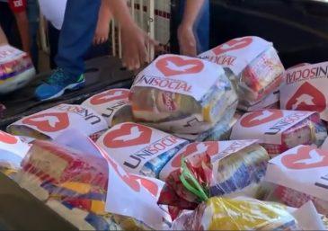 UNP doou 422 cestas básicas para familiares de detentos