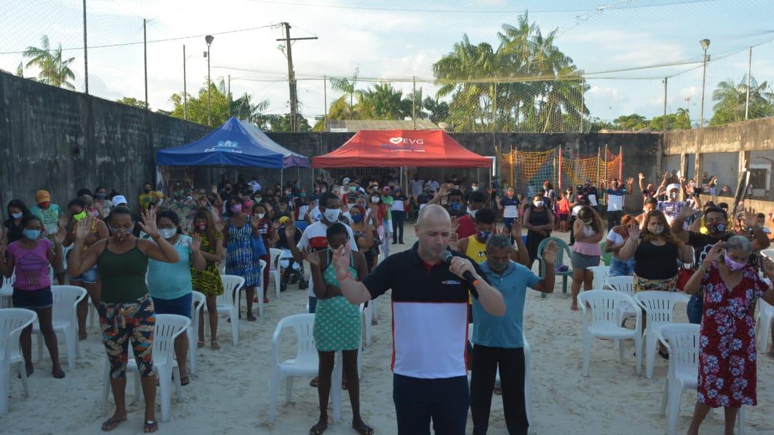 Unisocial do Pará realiza ação social em comunidade carente de Ananindeua
