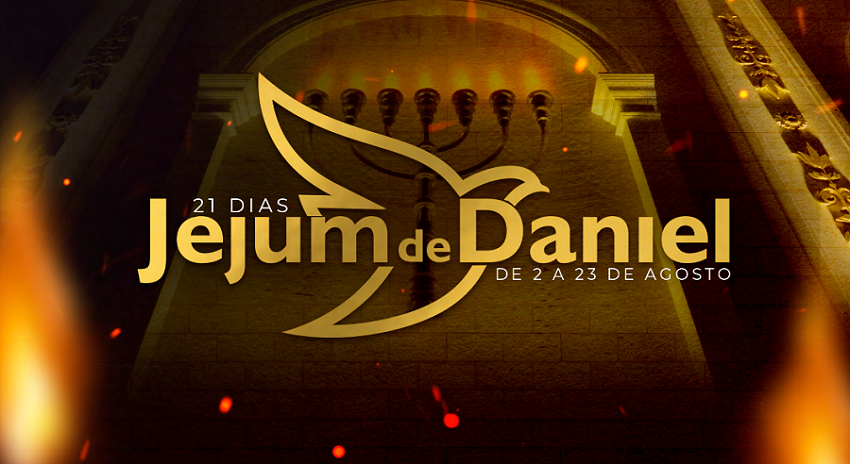 Jejum de Daniel: participe entre os dias 2 e 23 de agosto