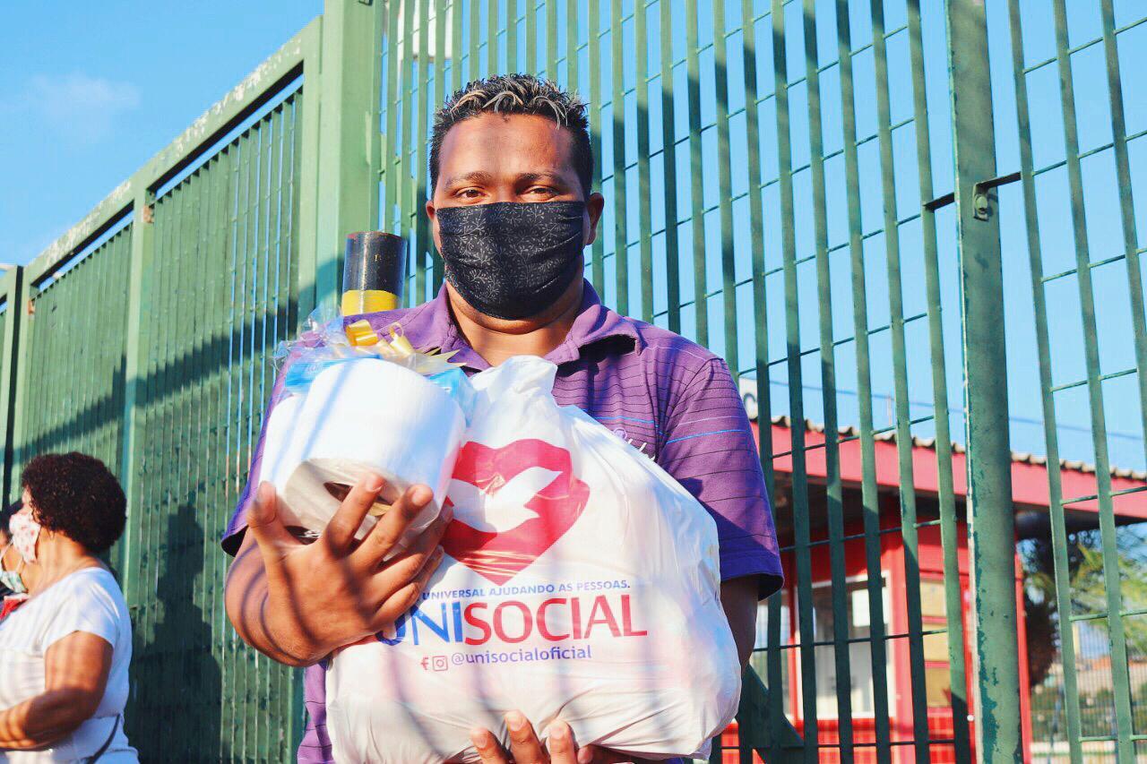 Mais de 600 pessoas foram beneficiadas pelo Unisocial em Guaianases, na capital paulista