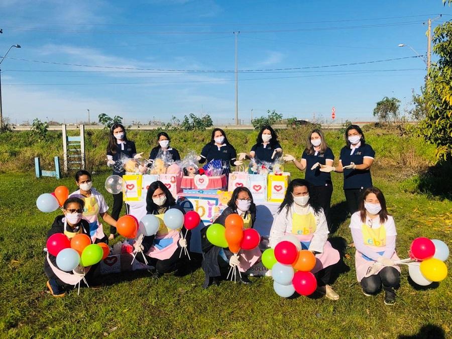 Educadoras voluntárias da EBI têm levado apoio a milhares de famílias no Rio Grandedo Sul