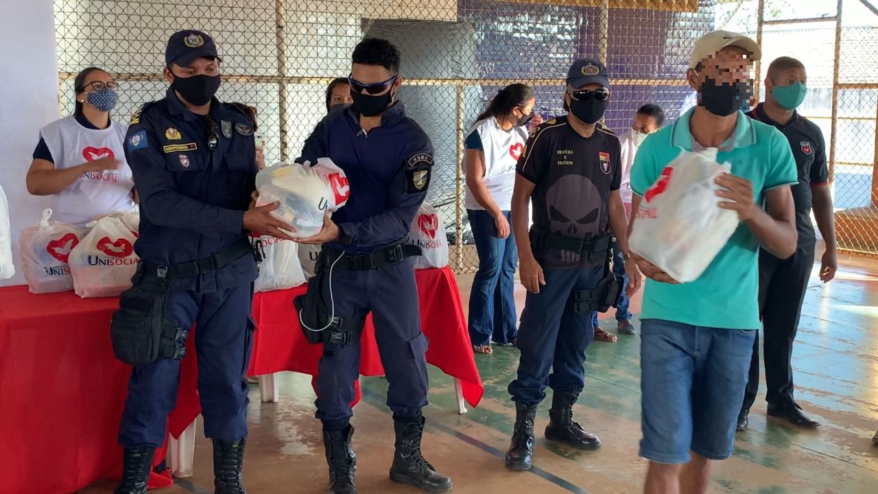 Policiais militares e Guardas municipais participam de evento social organizado pela UFP