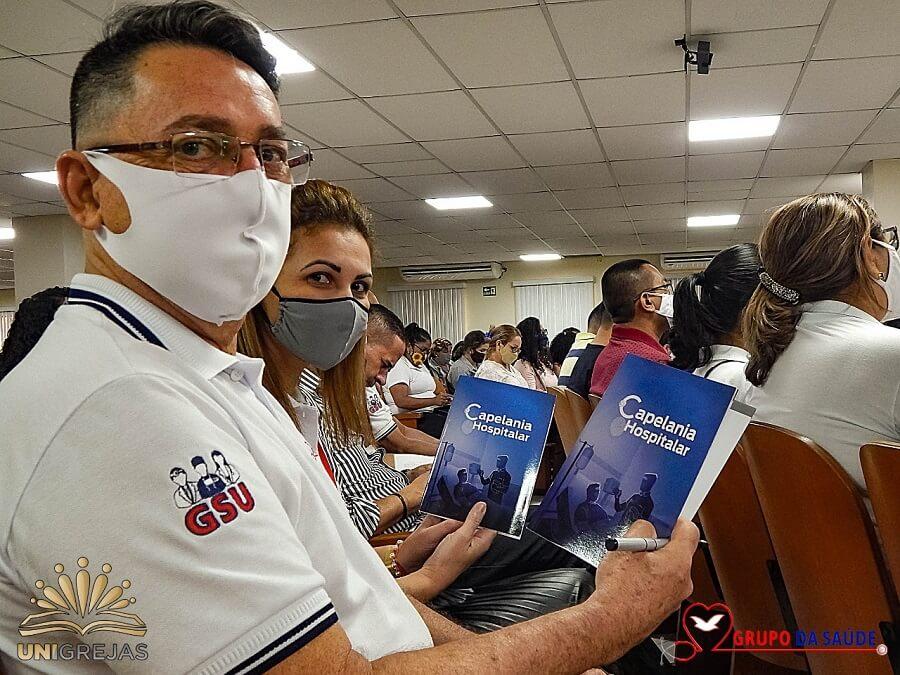 Voluntários são preparados para Capelania Hospitalar no Amazonas