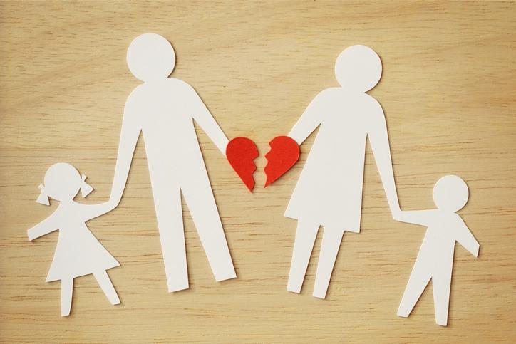A separação pode provocar trauma nos filhos até a vida adulta