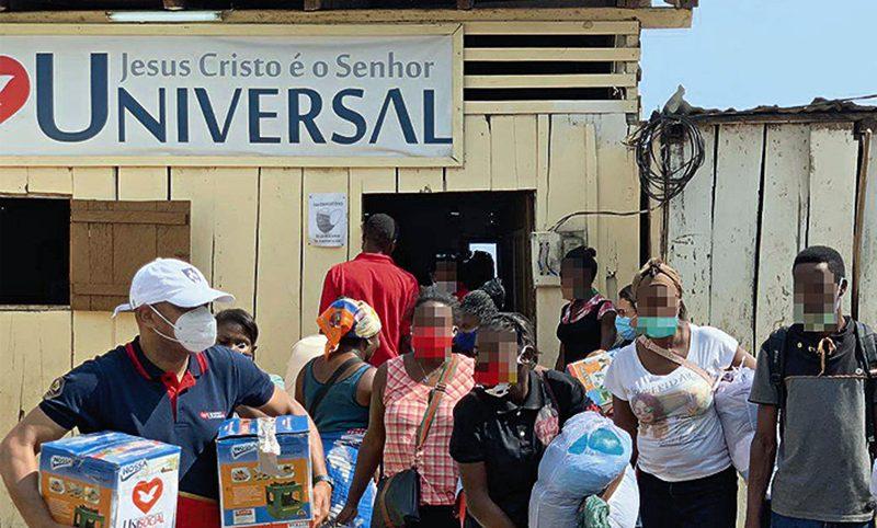 Unisocial ampara famílias desabrigadas em São Tomé e Príncipe