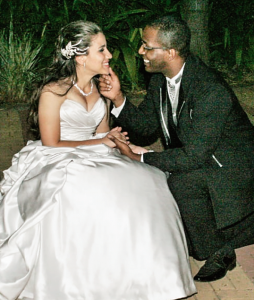 Ela se uniu a Deus antes  de se casar