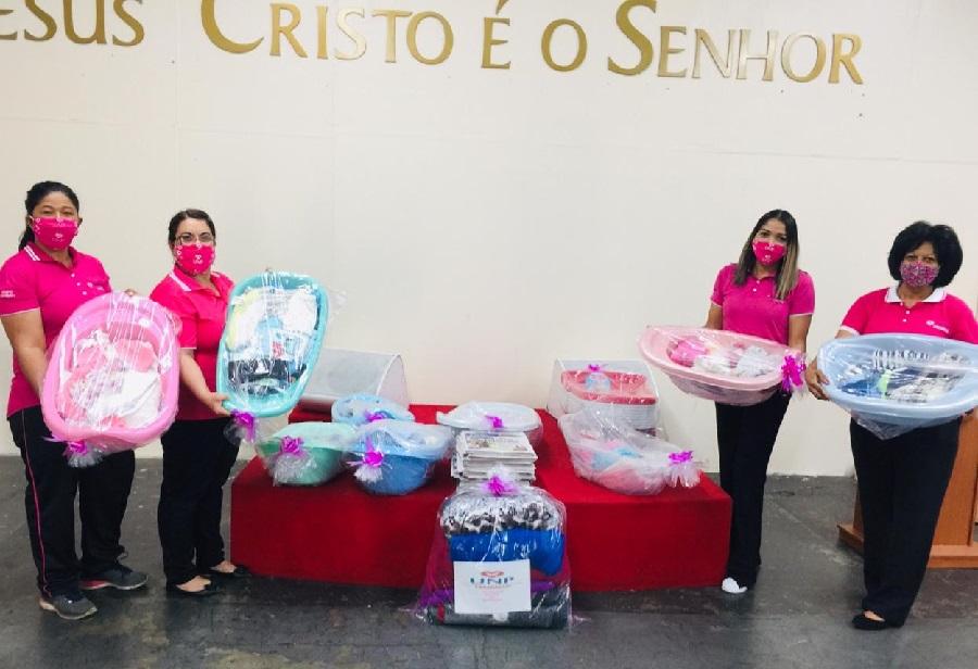 UNP entrega doações a detentas e recém-nascidos na região de Sorocaba, interior paulista