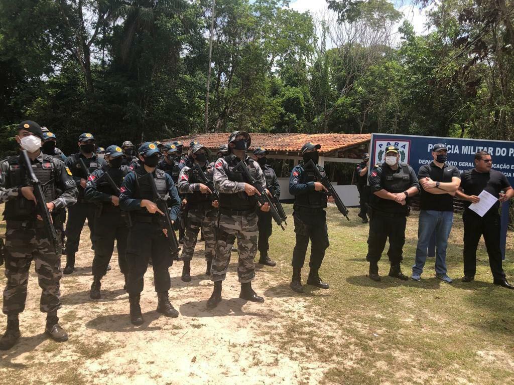 Universal no Pará é convidada para conhecer o Centro de Treinamento da Polícia Militar do estado