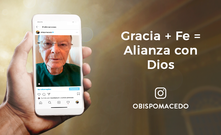 Gracia + Fe = Alianza con Dios