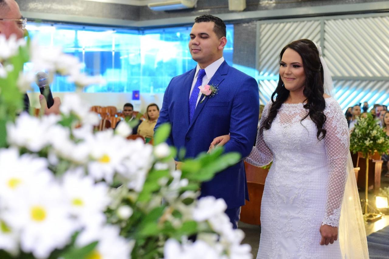 Eles se casaram na Universal de Campina Grande, na Paraíba