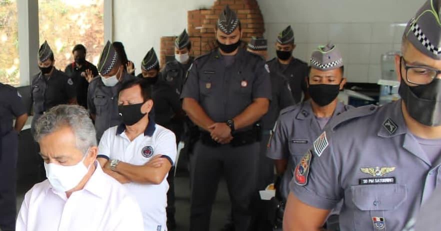 Ação promoveu a valorização de oficiais da Polícia Militar