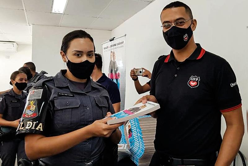 Palestra Namoro Blindado é levada aos alunos soldados da Polícia Militar