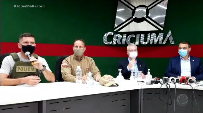 Mega-assalto em Criciúma: um detalhe que não pode passar despercebido