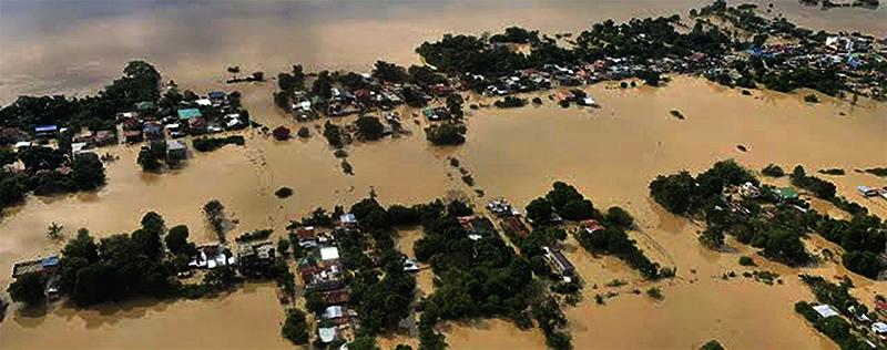 Vítimas de tufões nas Filipinas recebem auxílio  da Universal