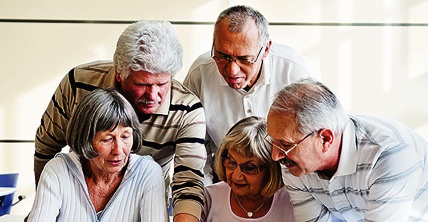 A importância da socialização na velhice