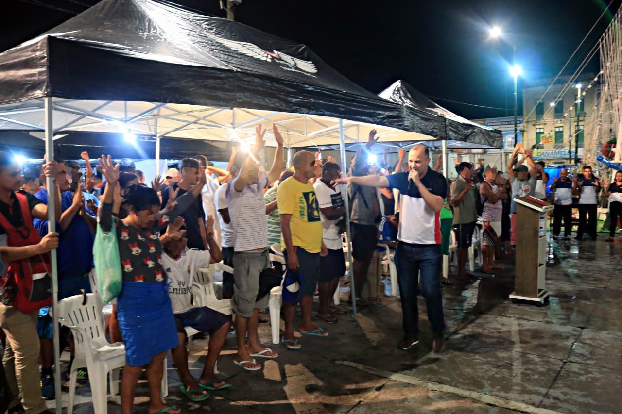EVG oferece serviços gratuitos para pessoas em situação de rua no Pará