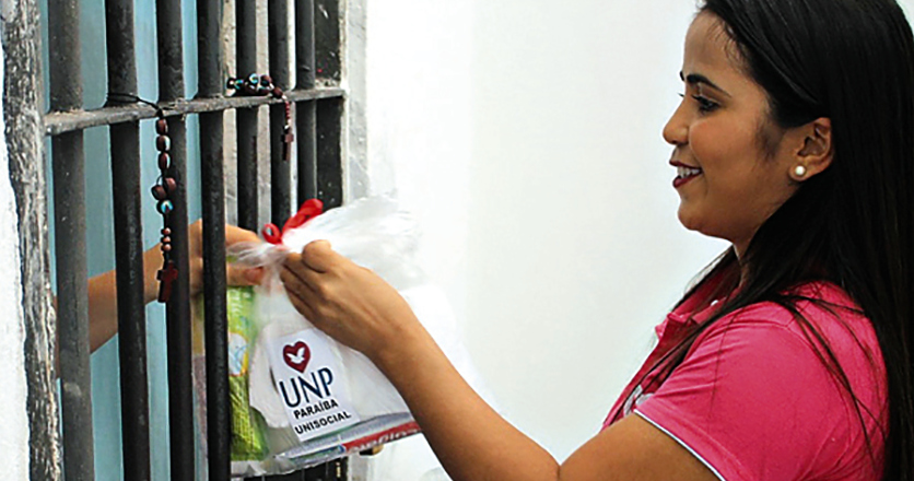 UNP promove movimento solidário de kits higiênicos