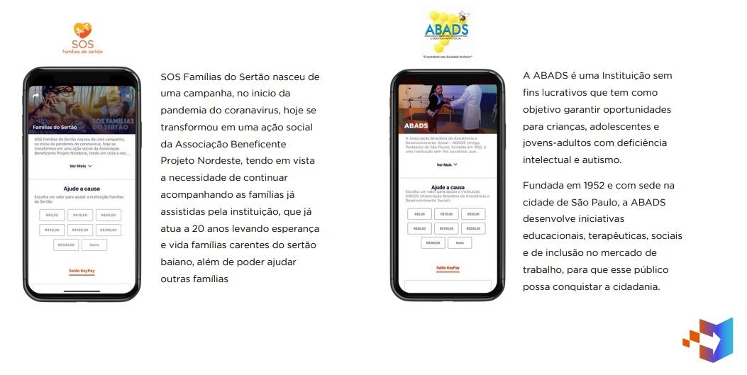 Ações sociais: colabore de maneira prática, pelo seu celular