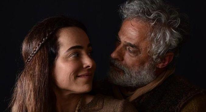 'Gênesis': Cassia Linhares gravou em arca com animais de verdade