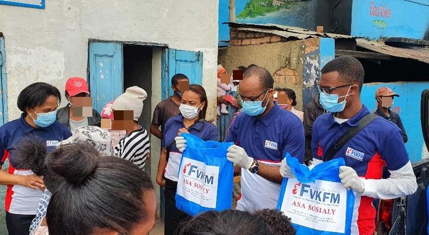 Mais de 3,5 mil famílias foram beneficiadas em Madagascar