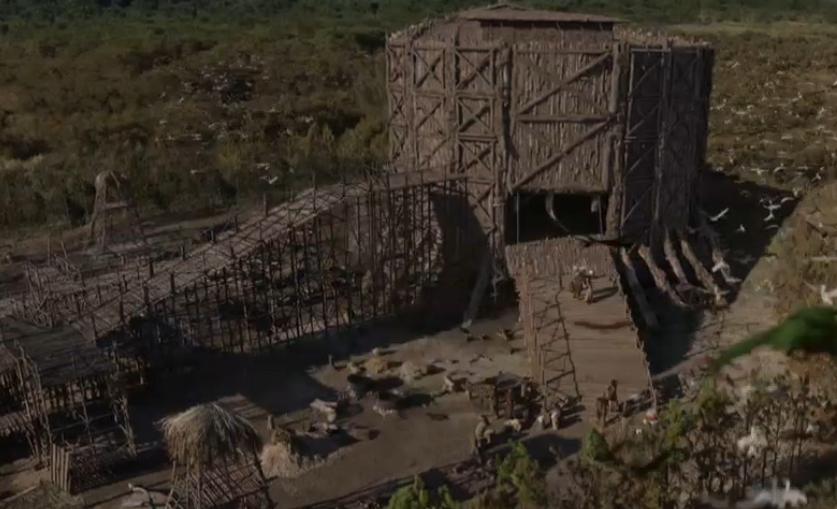 Gênesis: Noé faz a arca exatamente da maneira como Deus o instruiu