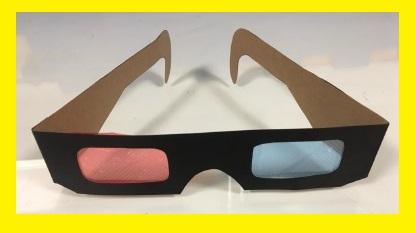 Óculos em 3D para uma visão além