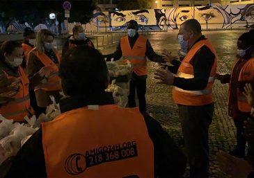 Anjos da Noite alcançou mais de 400 pessoas em bairros de Portugal