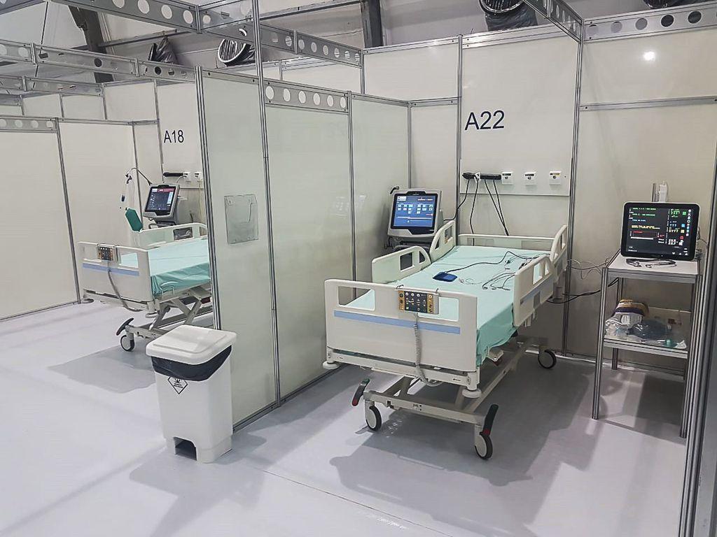 Onde estão os hospitais de campanha?