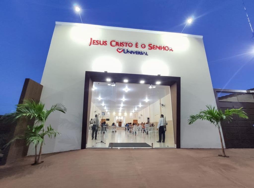 Universal inaugura templo no interior de Goiás
