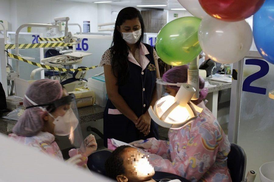 Crianças de abrigo pernambucano receberam tratamento dentário