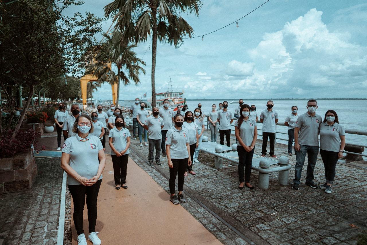 """Porto de Belém recebe voluntários do grupo """"Depressão tem Cura"""""""